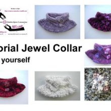 Jewel Collar - tutorial pattern