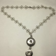 Collier support pourrait  bouton pression chunk 18 à 25mm