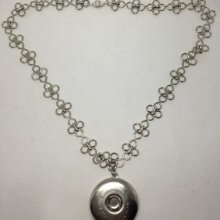 Collier support pour bouton pression chunk 30mm