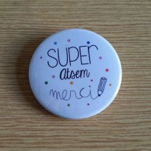 Badge 37 mm Super Atsem