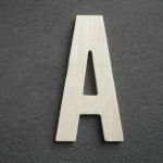 Lettre bois modèle BATON