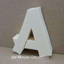 Lettre en polystyrène CANCUN