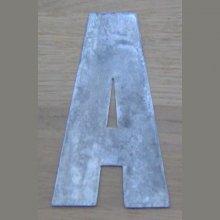 Lettre enseigne zinc CLASSIC