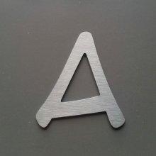 Lettre enseigne métal alu brossé ANIME ACE