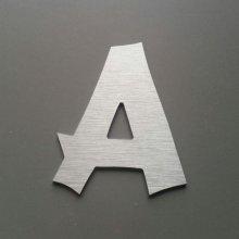 Lettre metal brossé CANCUN