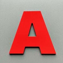 Lettre metal couleur ARIAL BLACK