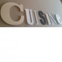 Lettre decorative CUISINE