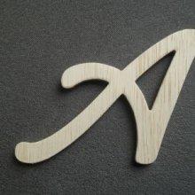 Lettre bois modèle COOL