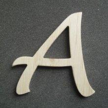 Lettre bois modèle DULCE
