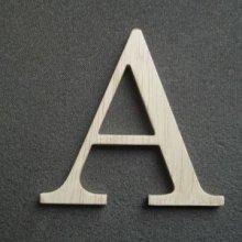 Lettre bois modèle LOFT