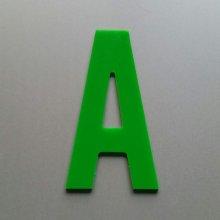 Lettre decorative en plexi ALTERNATE