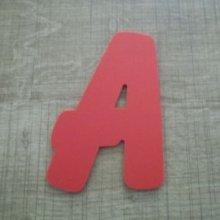 Lettre plastique PVC couleur BALLOON