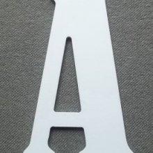 Lettre plastique PVC BERNARD CONDENSED