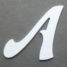 Lettre plastique PVC FELIPE