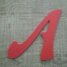 Lettre plastique PVC couleur FELIPE