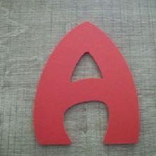 Lettre plastique PVC couleur HARLEQUIN