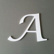 Lettre plastique PVC LUCIDA CALLIGRAPHY