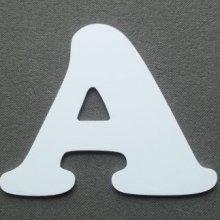 Lettre plastique PVC ZEN