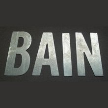 Lettre déco BAIN