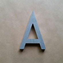 Lettre en relief 3D en zinc HAARLEM