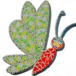 DIY Kit de création mosaïque ' Libellule Samba '