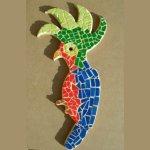 DIY KIT Mosaïque ' Perroquet ARA'