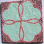 Kit mosaïque 'Coeurs entrelacés'