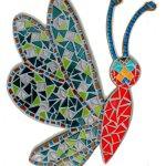 DIY Kit mosaïque  'LIBELLULE VITRAIL'