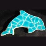 Kit mosaïque/puzzle 'DAUPHIN '