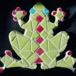 mini Kit mosaïque  'Grenouille verte'