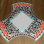 DIY Miroir ' IROISE ' Kit de décoration mosaïque