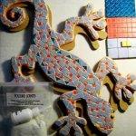 Gecko Tokay en kit mosaïque à faire soi même