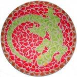 Mosaïque facile en kit Dessous de plat Lézard