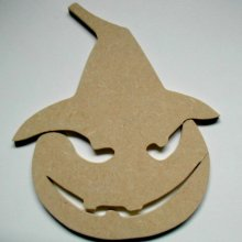 Personnage d' Halloween à décorer '  Citrouille à chapeau'