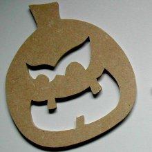 Personnage d' Halloween à décorer '  Citrouille ricanante'