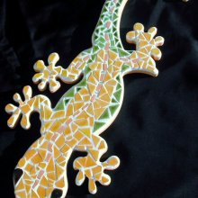 DECORATION GECKO