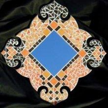 DIY Kit mosaïque ' MIROIR BAROQUE 3'
