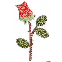 Diy Mosaïque 'Rose' en kit à décorer ou à offrir