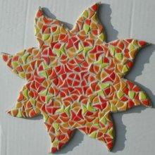 Kit mosaïque Soleil Mandarine