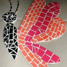 Kit mosaïque 'Papillon rigolo'