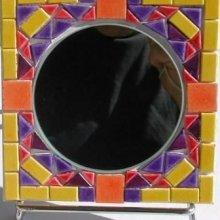 Kit mosaïque enfant ' Petit Miroir à décorer'