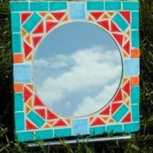 Petit miroir et D'clic mosaïc