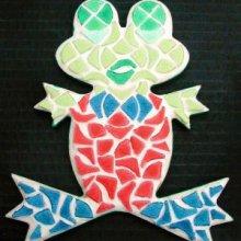 Kit mosaïque enfant 'Grenouille rigolote'