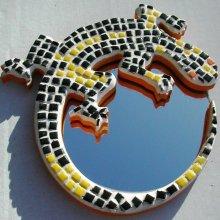 Kit micro mosaïque Salamandre Miroir