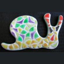 DIY  Kit mosaïque enfant  'Couic' L'escargot'