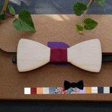 Noeud papillon pour enfant en bois peuplier à personnaliser
