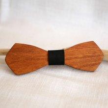 Noeud papillon homme en bois français  'le rablé long' personnalisable