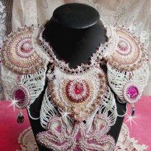 Collier Haute-Couture Victorien 'Madame de Pompadour', plaisir des yeux