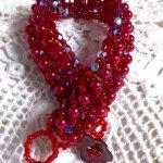 Bracelet en perles 'Myrella', perles en folies