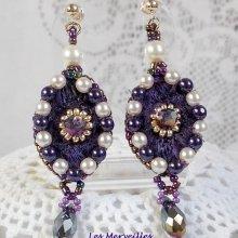 BO Les Merveilles d'Antan brodées de perles nacrées...